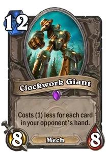 Hearthstone Clockwork Giant