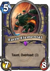 Hearthstone Earth Elemental