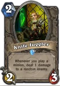 Hearthstone Knife Juggler