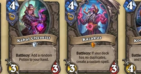 Hearthstone MSG Cards