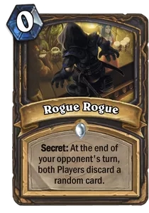 Hearthstone Rogue Rogue