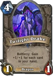 Hearthstone Twilight Drake