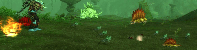 WoW Pet Battle Dino Swarm