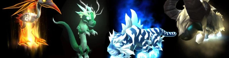 WoW Pet Battle Patch 5.4 Celestials