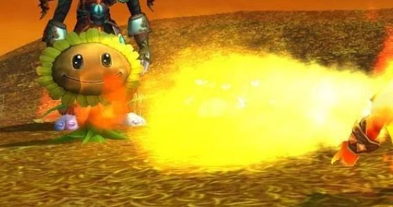 WoW Pet Battle Plants Flame