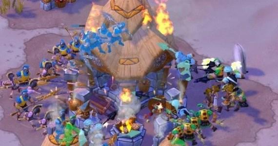 Age of Empires Online Village Burn