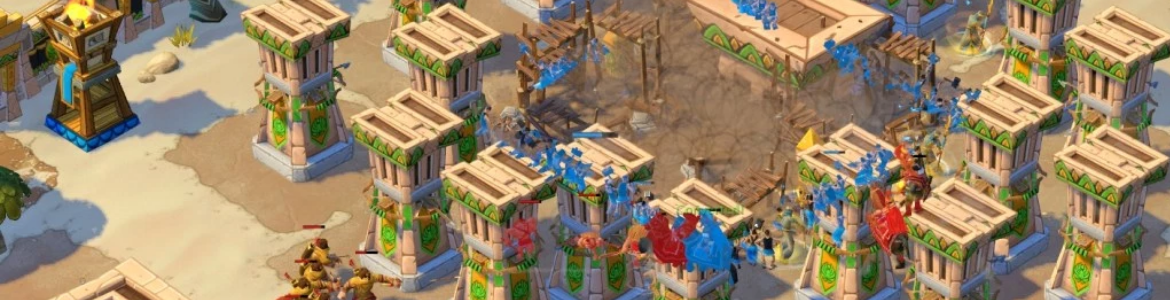 Age of Empires Online Egypt Towers