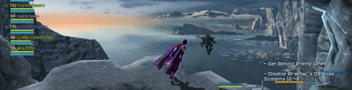 DCUO Fortress of Solitude Vista