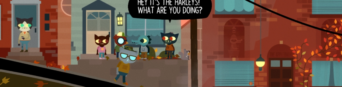 Night in the Woods City