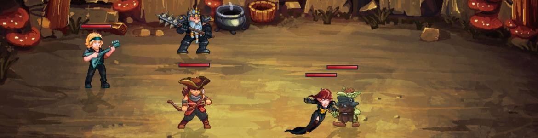 Dungeon Rushers Combat