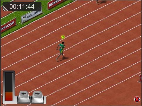 Game đường chạy 100m | GAME DUA XE
