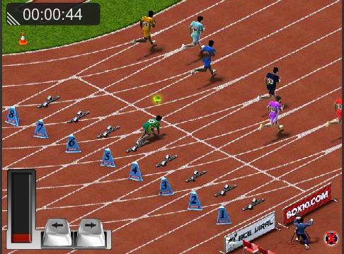 Game chạy đua 100m | GAME DUA XE