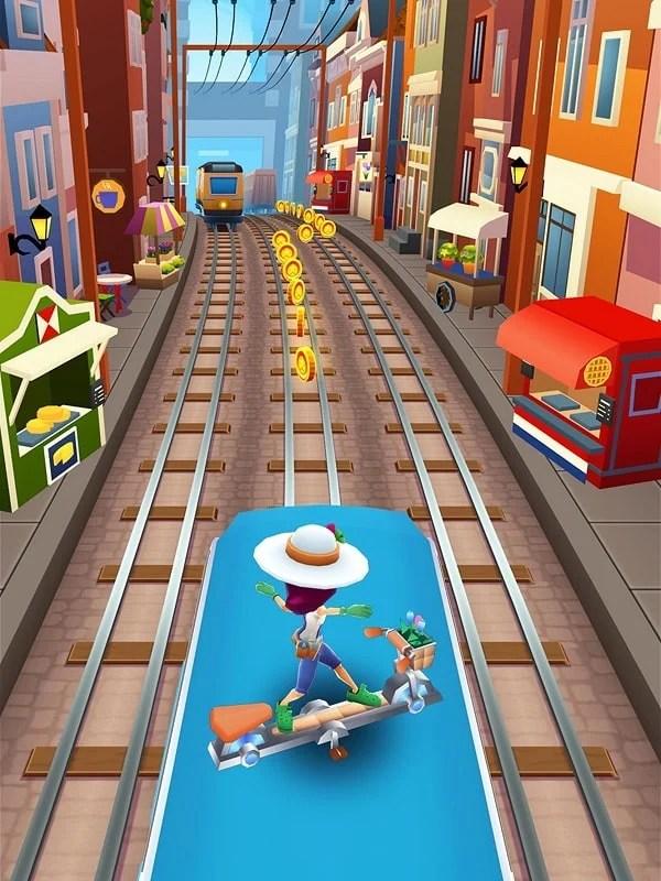 Game Subway Surf Mod : subway, Download, Subway, Surfers, 2.14.0, (Menu, Mod/Unlimited, Money)