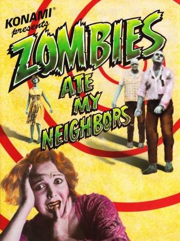 Risultati immagini per zombies ate my neighbors poster