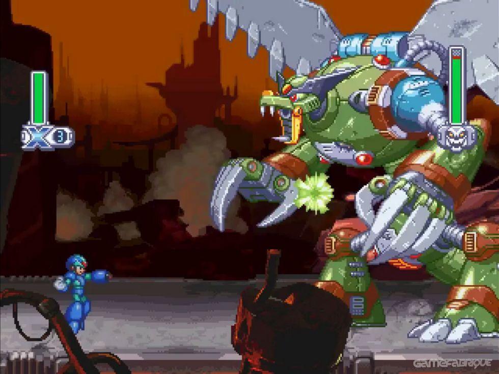 Mega Man X4 Download   GameFabrique