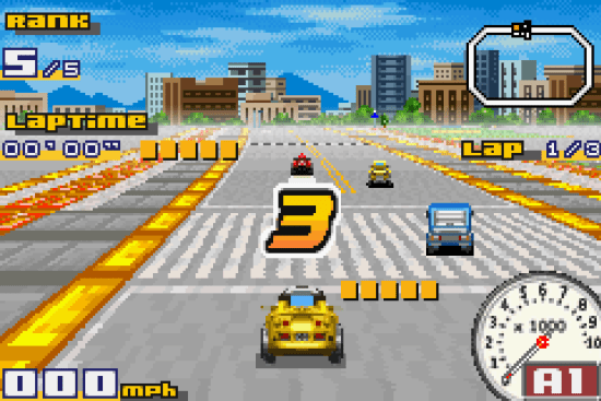 Penny Racers GBA ROM #15