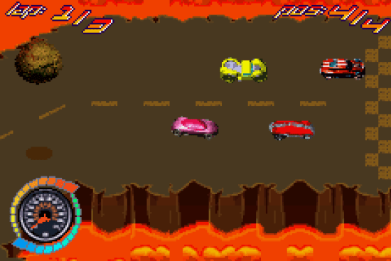 Hot Wheels GBA ROM #8