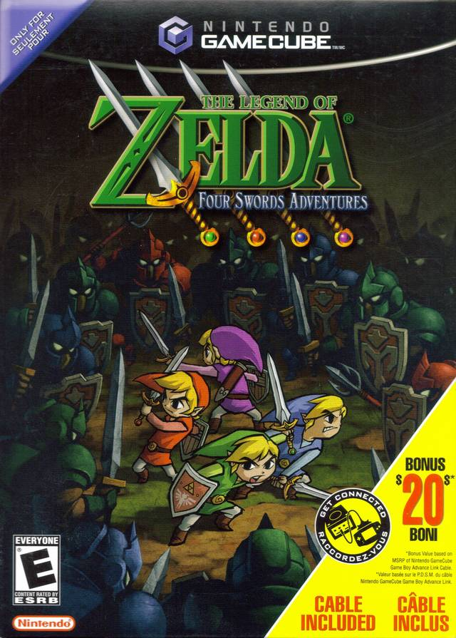 The Legend Of Zelda Four Swords Adventures : legend, zelda, swords, adventures, Legend, Zelda:, Swords, Adventures, GameCube, GameFAQs