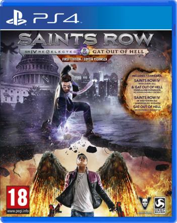 Saints Row: IV Re-Elected & Gat Out of Hell First Edition PL (PS4) - Gamefinity.pl