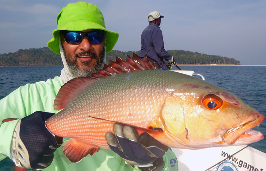 boha-snapper_light-tackle_andaman_assasin-sierra-lite-rod_shimano-tp-5000-reel_nomad-115-lure_zainul-2