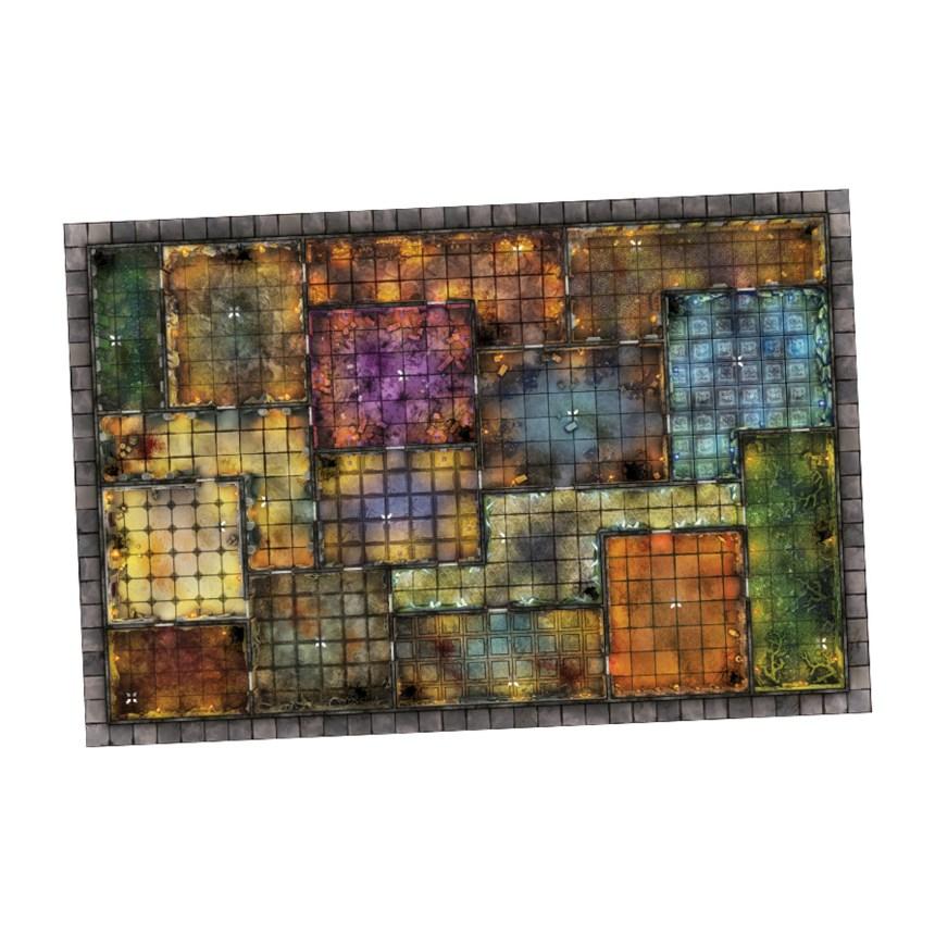 Altar Quest by Blacklist Games LLC - Neoprene Game Board Mat - gamefound.com