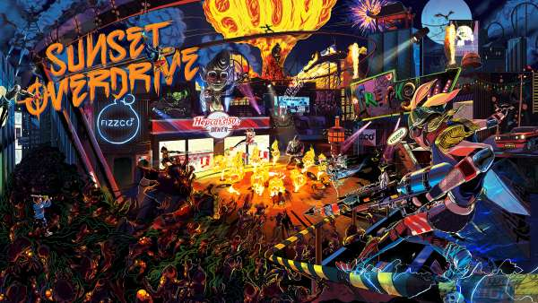 Sunset Overdrive - Banner3