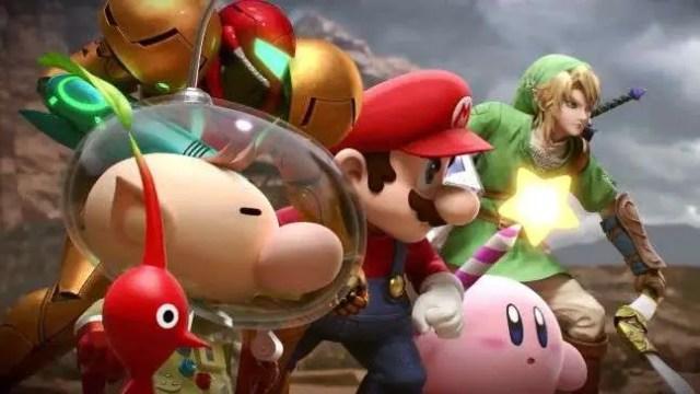 Super Smash Bros Wii U - 1