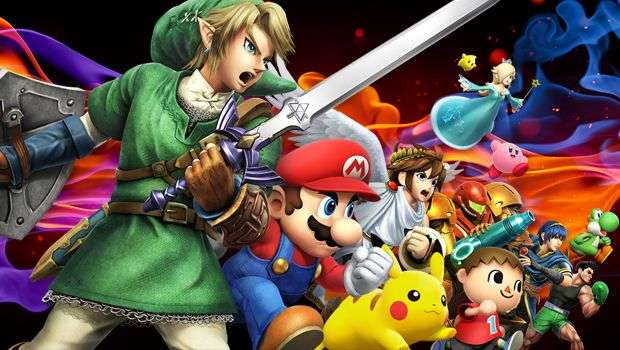 Super Smash Bros - Banner