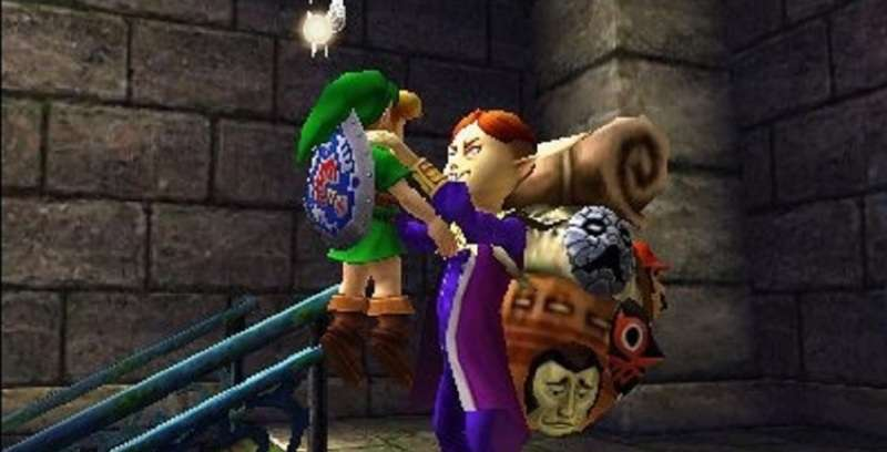 Legend of Zelda Majoras Mask 3D - Mask Salesman