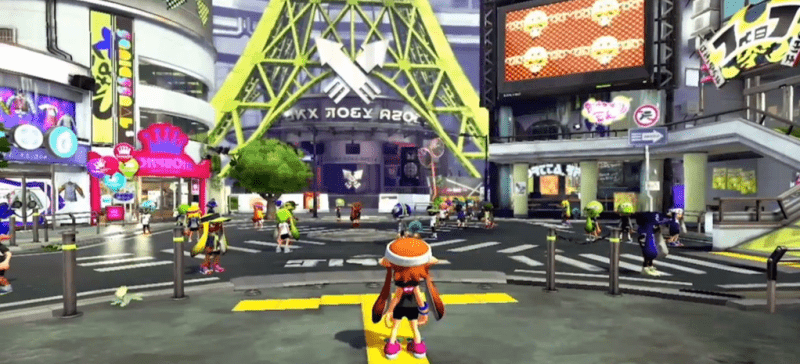 Splatoon - Hub World