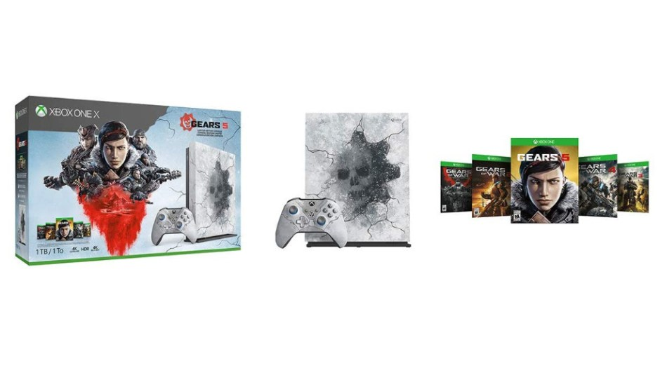 Xbox One X Limited Edition Gears 5 bundle