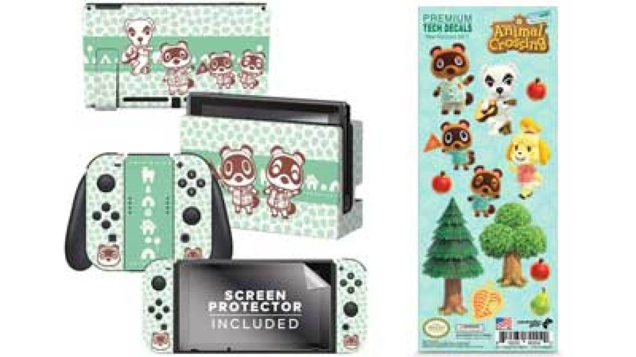 Deck Out Your Switch With Animal Crossing New Horizons Skins And