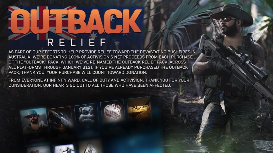 Image result for call of duty outback relief pack