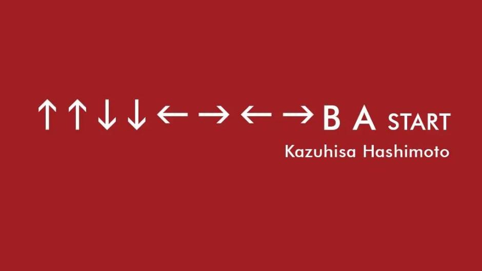 Konami Code Kazuhisa Hashimoto
