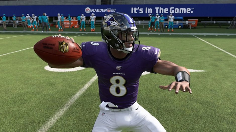 Lamar Jackson Madden NFL 20