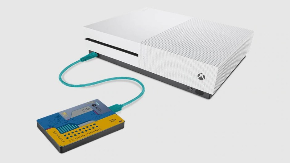 Cyberpunk Special Edition Seagate 2TB hard drive