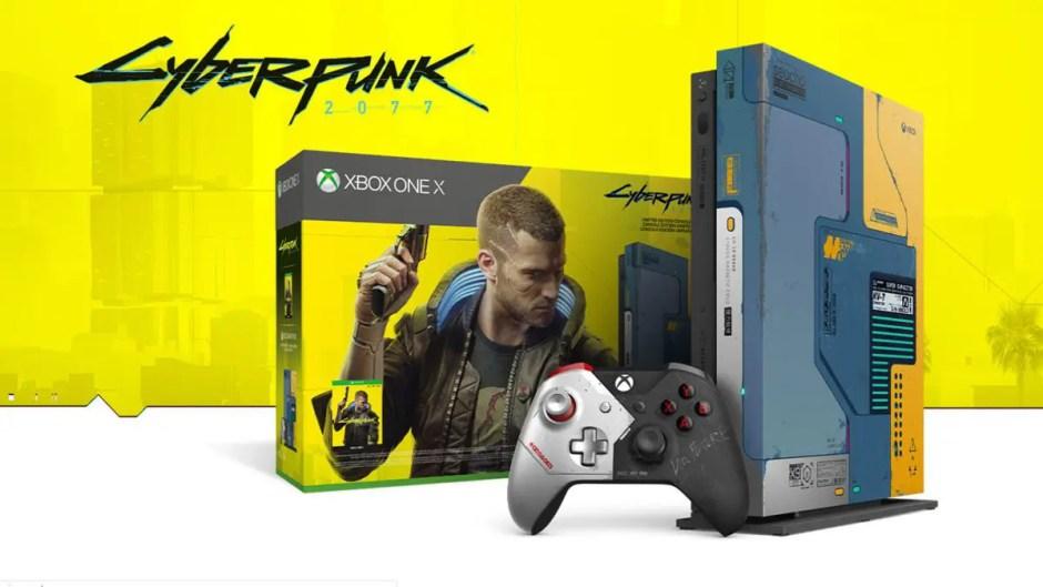 Cyberpunk 2077 Xbox One X Limited Edition Bundle