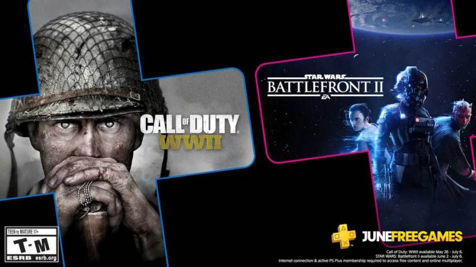 PlayStation Plus June 2020: Star Wars Battlefront II, Call of Duty: WWII