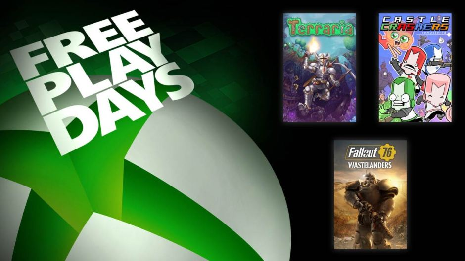 Xbox Free Play Days Fallout 76: Wastelanders