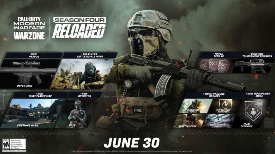 Call of Duty Modern Warfare Warzone June 30 update