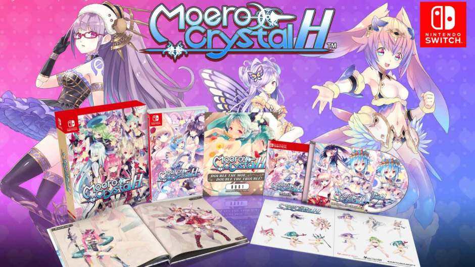 Moero Crystal H Limited Edition Nintendo Switch