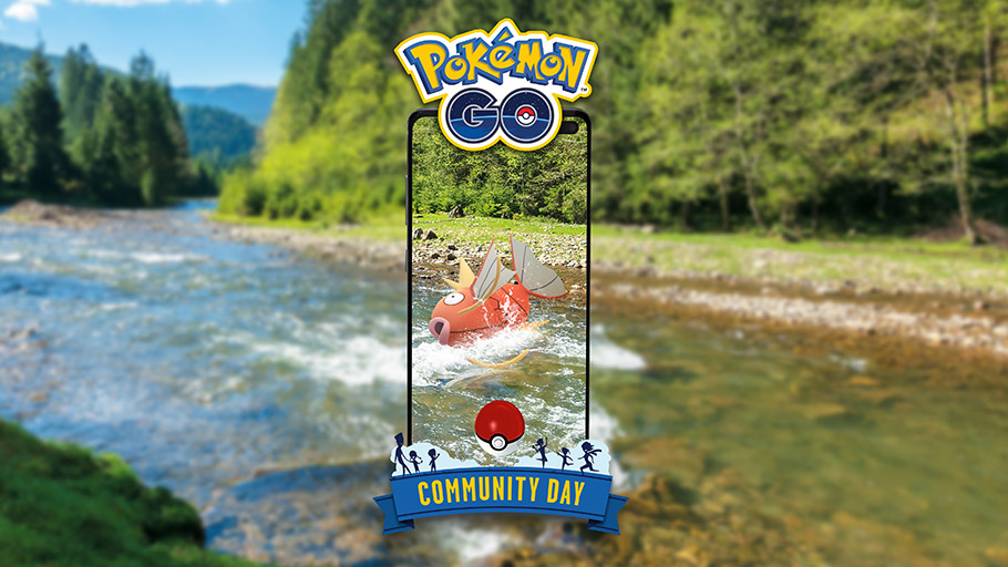 Pokémon Go August Community Day Magikarp