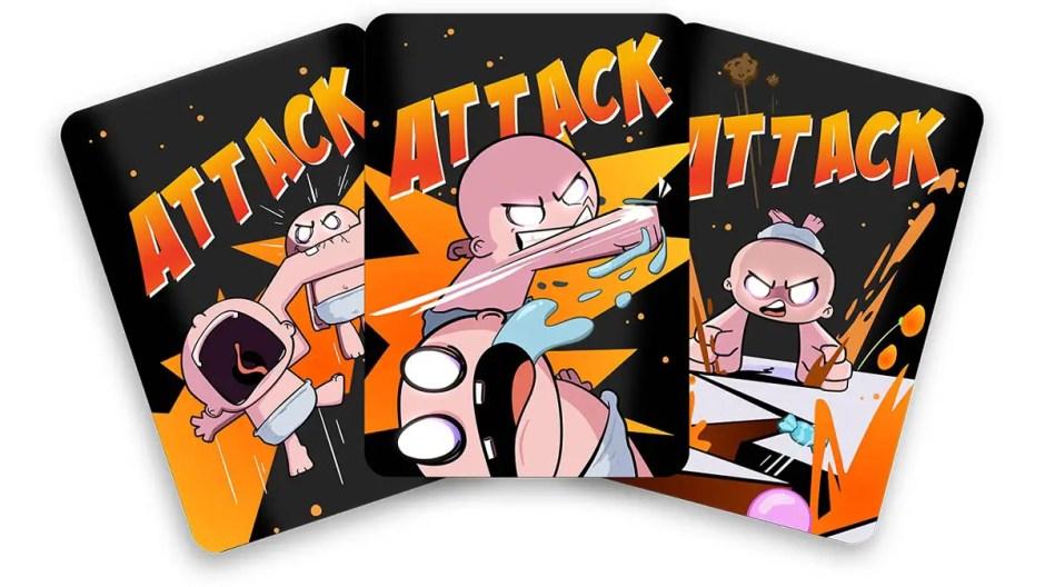 Sugar Heist attack cards