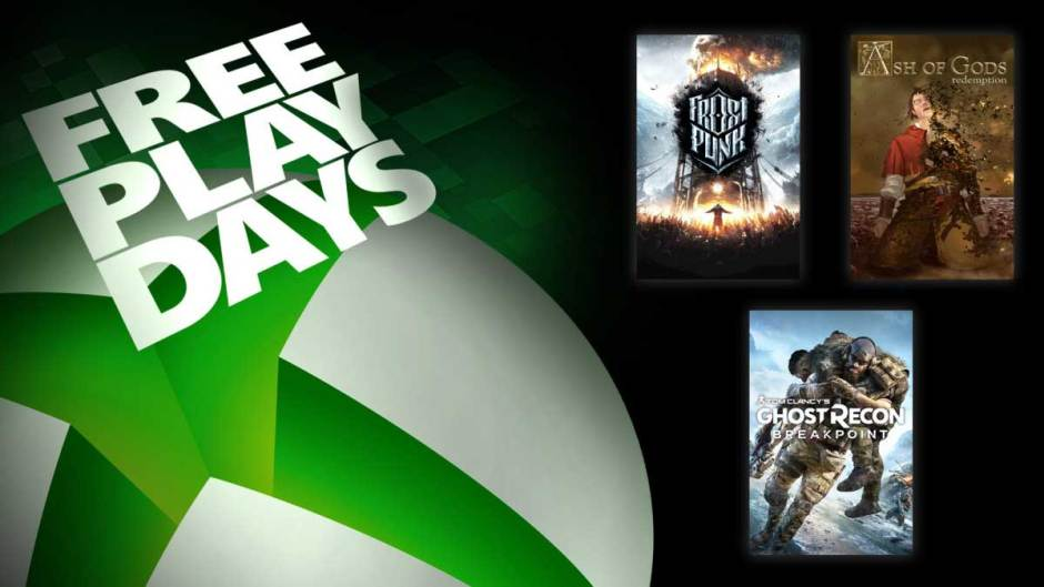 Xbox Free Play Days: Ghost Recon Breakpoint, Ash of Gods Redemption, Frostpunk