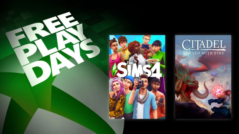 Xbox Free Play Days The Sims 4 Citadel: Forged with Fire