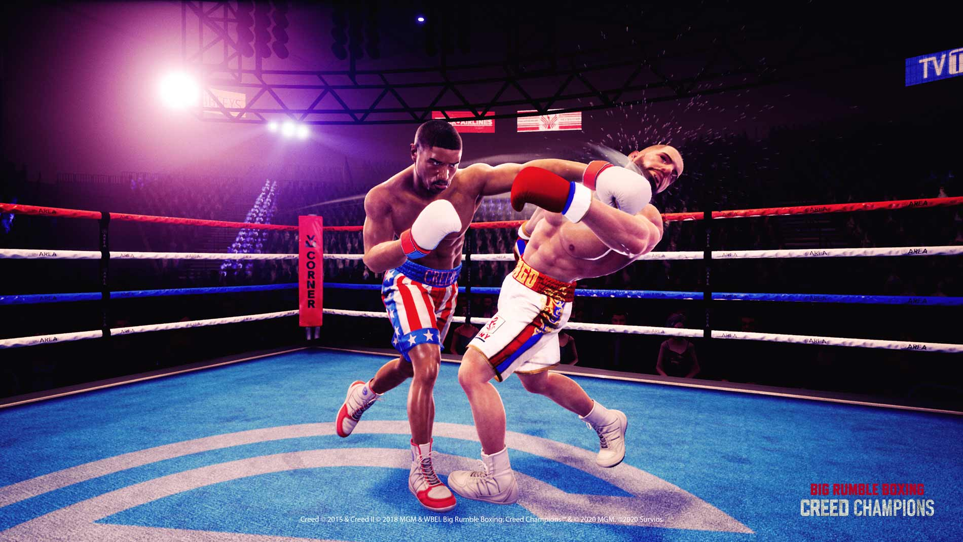 Big Rumble Boxing: Creed Champions announced for Switch, launching Spring 2021