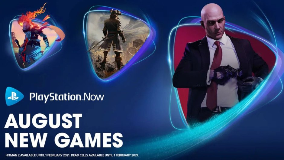 PlayStation Now Hitman 2, Greedfall, Dead Cells