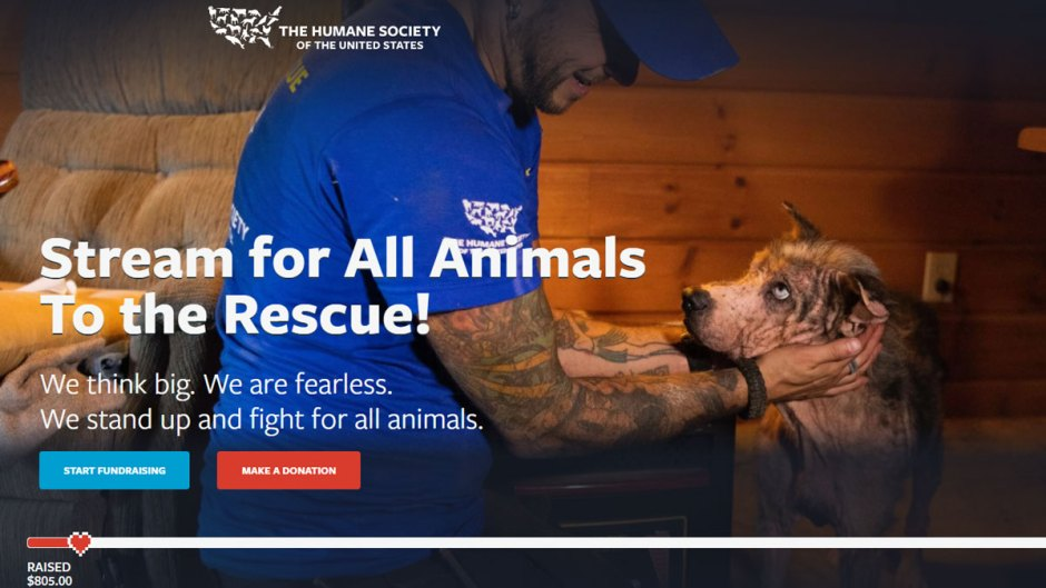 Stream for All Animals: To the Rescue Humane Society of the United States