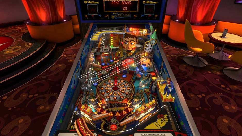 Funhouse table in Williams Pinball: Volume 6 for Pinball FX3