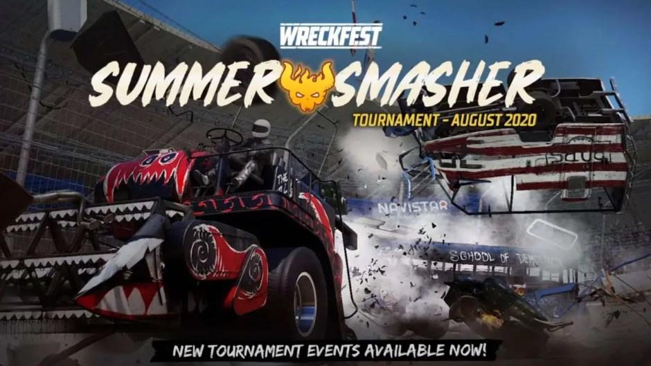Wreckfest Summer Smasher Tournament